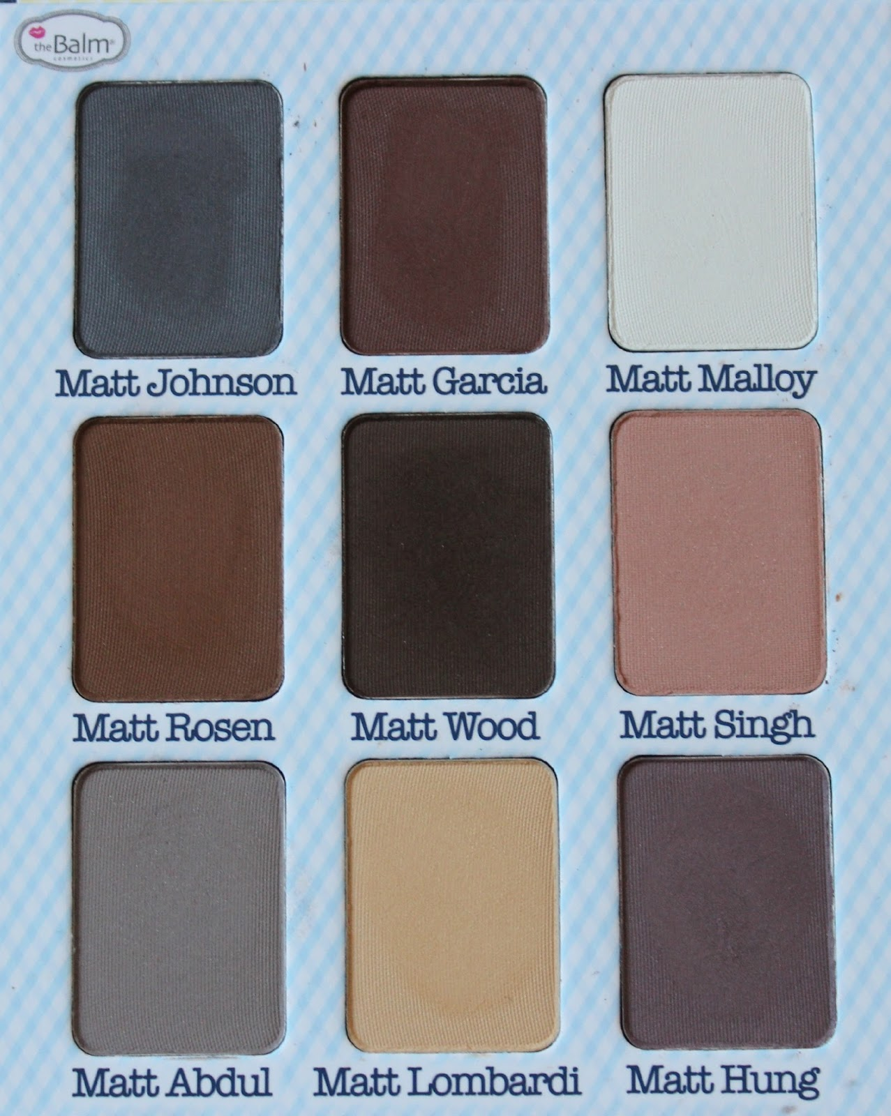 A picture of theBalm Meet Matt(e) Nude