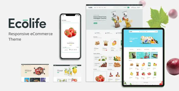 Best Organic, Food, Cosmetic and Multipurpose Magento Theme