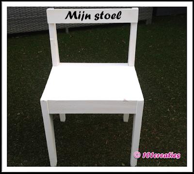 Gepimpt stoeltje