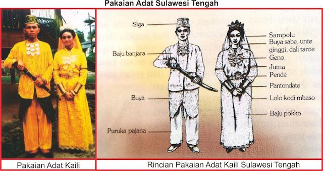 gambar baju adat sulawesi tengah
