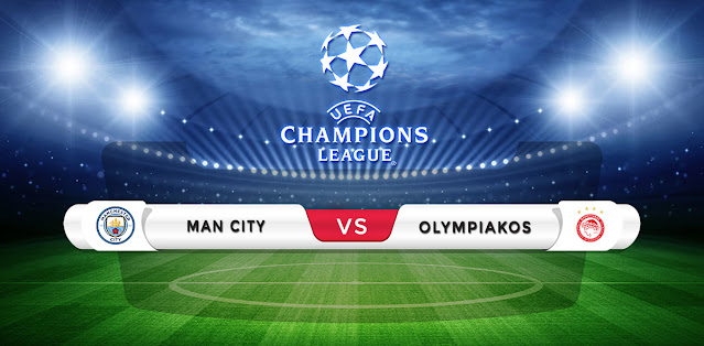 Manchester City vs Olympiakos Prediction & Match Preview