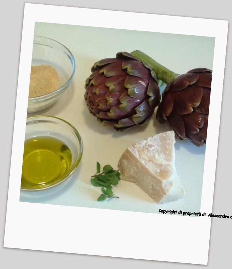 Ingredienti carciofi ripieni
