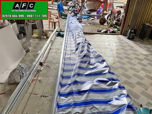Thi công Mái xếp - Mái hiên di động tại Phú Quốc
