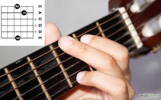 Gambar Chord Gitar G / Kunci Gitar G