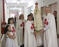 Misión Mariana realizada por los cooperadores de los Heraldos del Evangelio