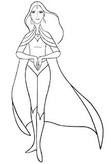 שי-רה נסיכת הכוח לצביעה