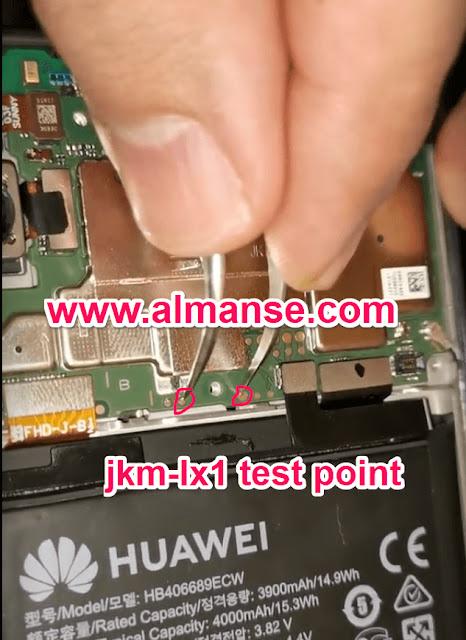 jkm-lx1 test point