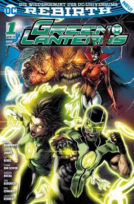GREEN LANTERNS 1: Rebirth - DC-Comic | Panini-Verlag
