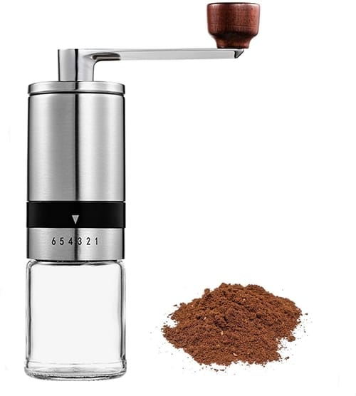 Zoyoleader Manual Coffee Grinders with 6 Adjustable Settings