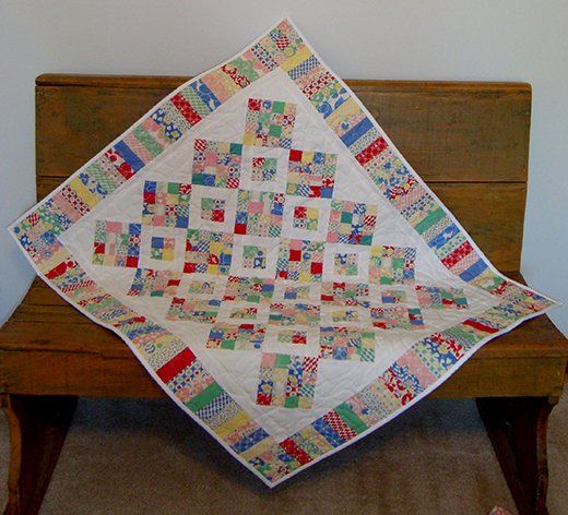 Between Charming Friends Quilt Free Pattern