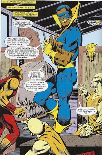Black Goliath de Marvel