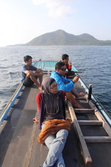 camping di pulau pahawang