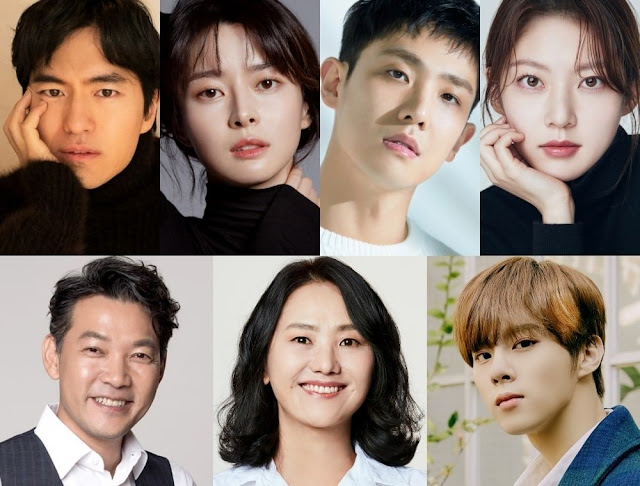 New Korean Drama Bulgusal Announces Cast, There are Lee Jin Wook to Kwon Nara