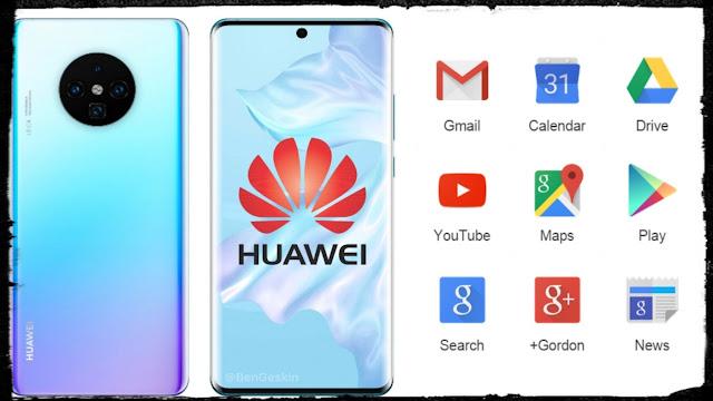 كيفية تثبيت تطبيقات جوجل على هواتف هواوي   Huawei Mate 30