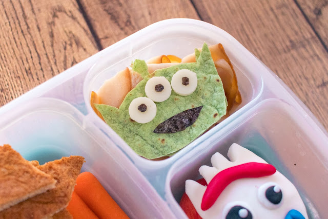 How to Make a Toy Story School Lunch