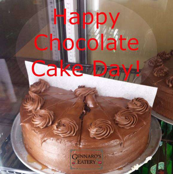 National Chocolate Cake Day Wishes Images