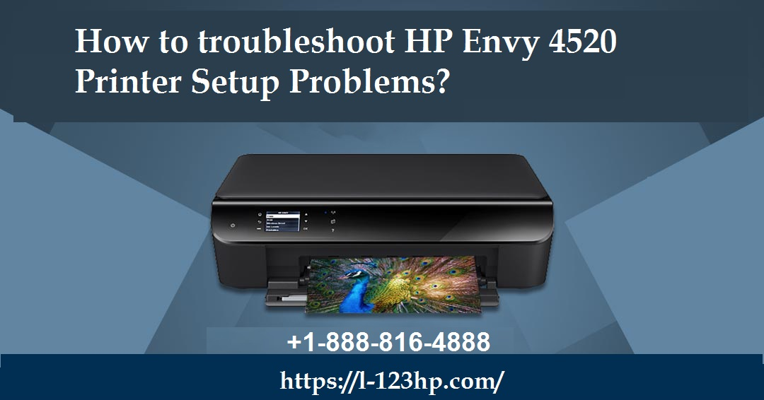 HP Printer: How to troubleshoot HP Envy 4520 Printer Setup Problems?