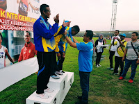Laga Perdana di Atletik, Arif Sabet Emas di Nomor 400 Meter