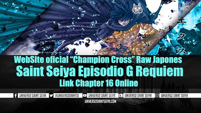 "Saint Seiya Episodio G Requiem – Capitulo 16 – WebSite oficial ""Champion Cross"" Raw Japones"