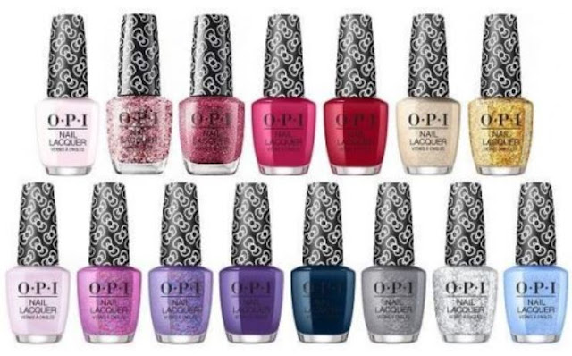 OPI x Hello Kitty Holiday 2019 Collection - with swatches!