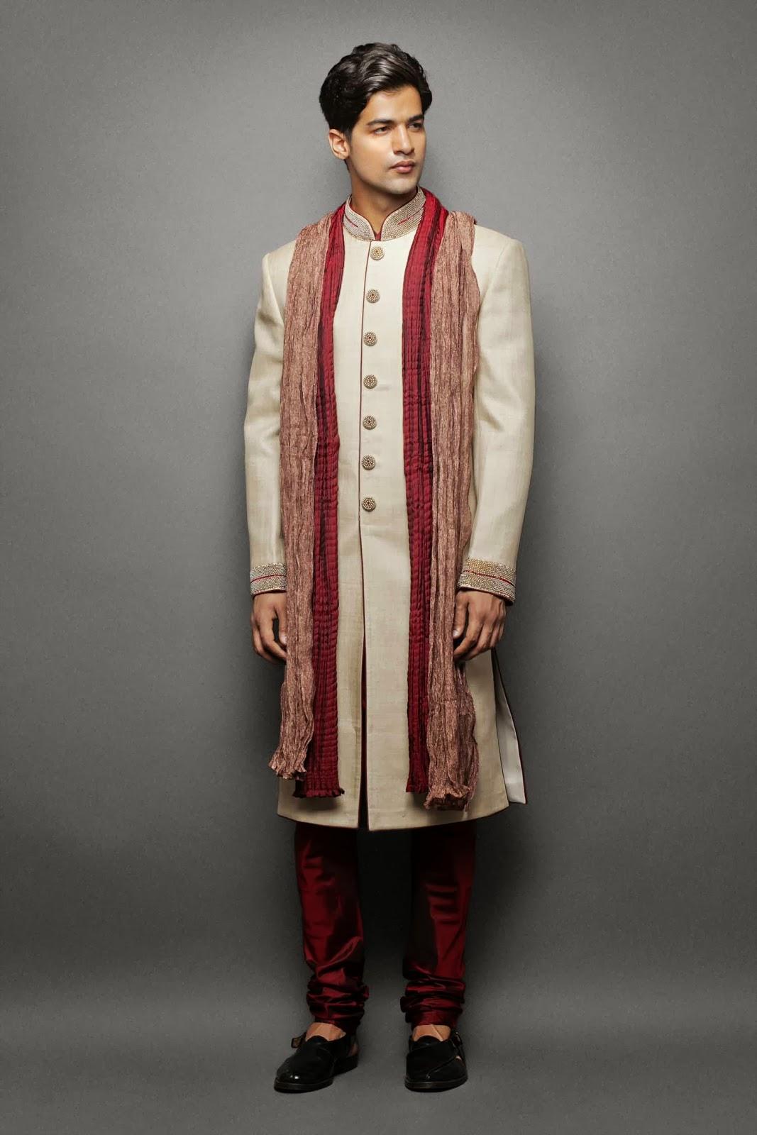 Online Indian Mens Sherwanis : Latest Indian Wedding