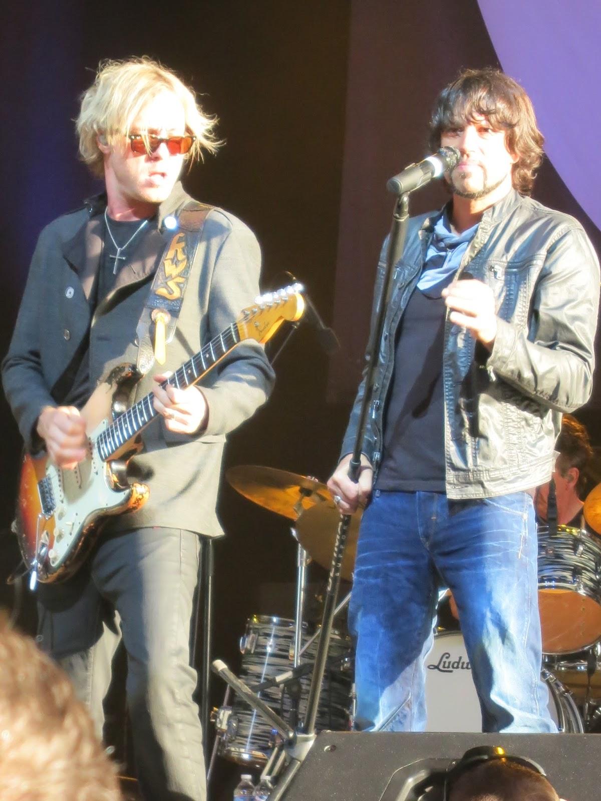 Kenny Wayne Shepherd and Noah Hunt