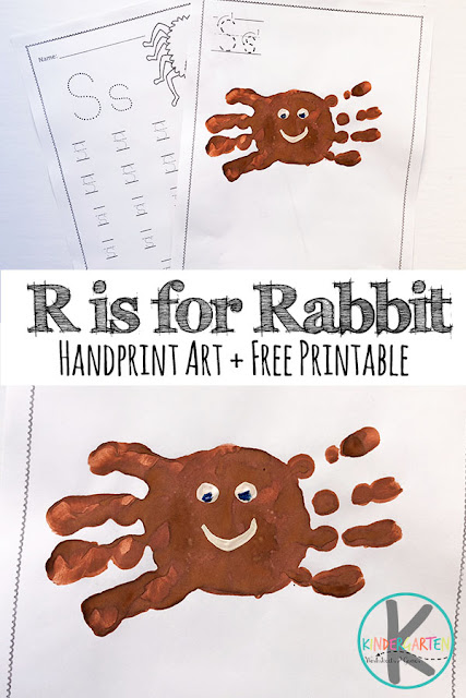S is for Spider Handprint Art & Letter S Worksheets - super cute and fun to make alphabet craft perfect for halloween or letter of the week curriculum. The free printable letter worksheets are great for practicing the letter s. #craftsforkids #spiders #alphabetcrafts