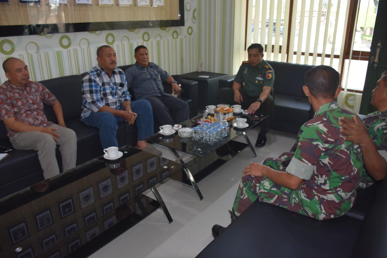 Dandim 0803/Madiun Terima Kunjungan Tim Wasev Rutilahu Provinsi Jatim