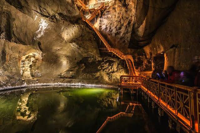 Estrutura das Minas de Sal de Berchtesgaden em Munique