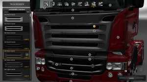Grill for Scania RJL