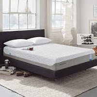TEMPUR‐Cloud Prima Medium-Soft Mattress, Luxury Cooling Memory Foam Layers, Queen, Made in USA, 10 Year Warranty