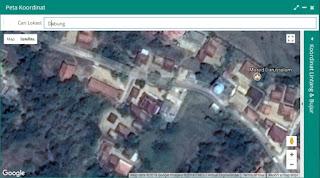 lokasi tempat tinggal atau rumah GTK atau peserta didik