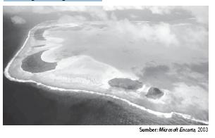 Bentuk Muka Bumi di Wilayah Lautan dan Daratan