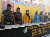 Babinsa Koramil 04/TL Hadiri Acara Integrasi Program KKBPK Di Kampung KB Kabupaten Batu Bara