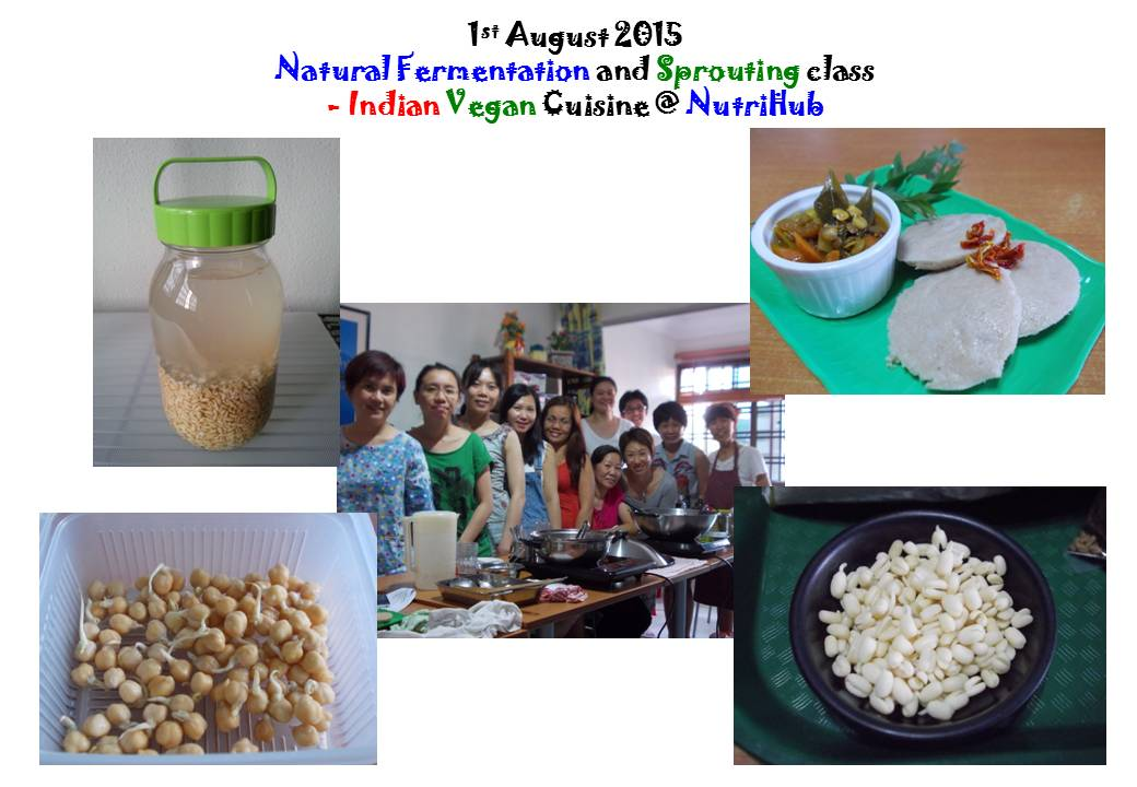 Natural Fermentation & Sprouting class by Vinitha