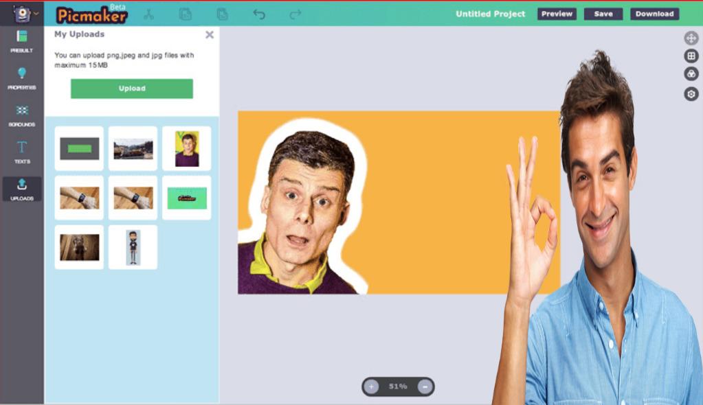 أنشئ بانر أو صور مصغرة لقناتك على اليوتوب بسهولة باستخدام موقع PicMaker ؟