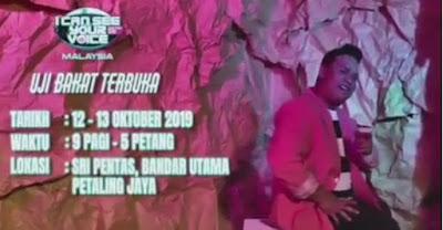 Tarikh Ujibakat I Can See Your Voice Malaysia Musim ke 3