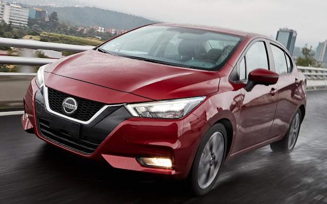 Nissan Versa 2020 chega o México para enfrentar o Virtus