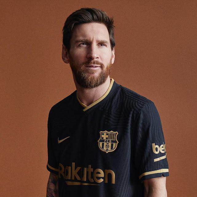ميسى وقميص برشلونة الاحتياطى الجديد  2020