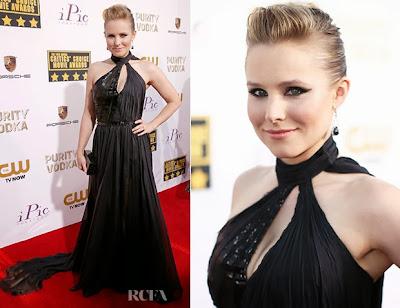 Kristen Bell Critics Choice Movie Awards 2014