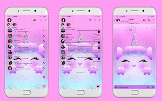 Unicorn Cute Theme For YOWhatsApp & Fouad WhatsApp By Leidiane