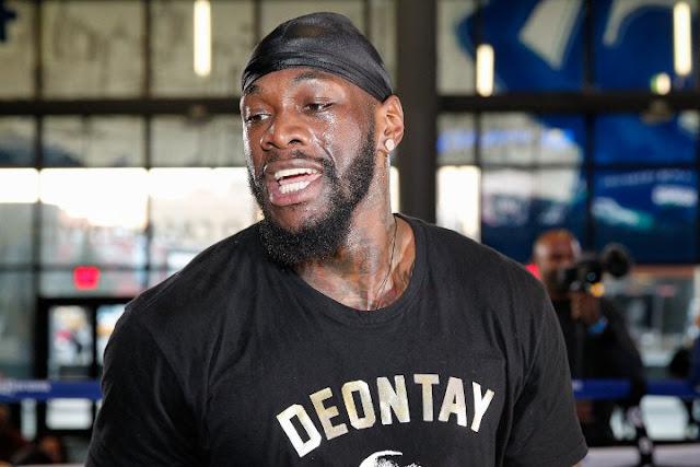 WBC Heavyweight World Champion Deontay Wilder