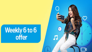 Telenor Weekly 6 to 6 Offer available in just Rs. 55