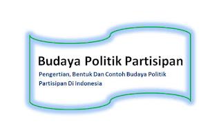 Pengertian, Bentuk Dan Contoh Budaya Politik Partisipan Di Indonesia