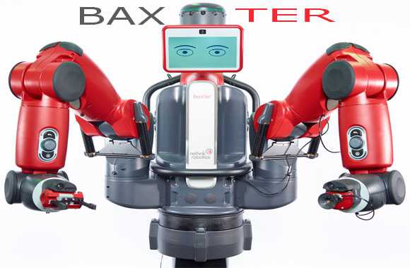 Baxter - Robot Canggih yang Dikontrol Lewat Otak Manusia