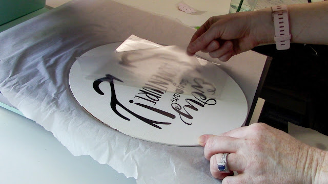 wood signs, heat transfer vinyl, adhesive vinyl, heat press, silhouette cameo, htv