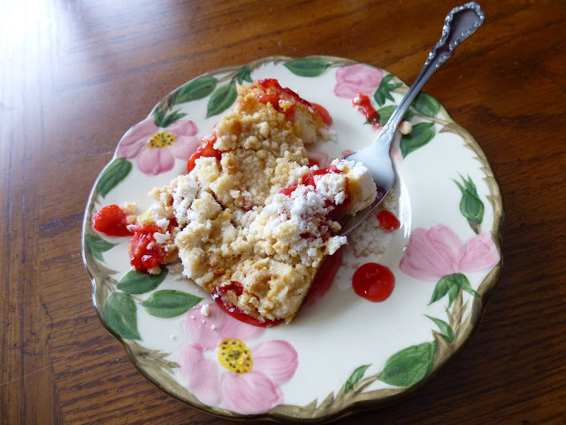 George Washington Cherry Cake