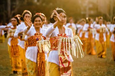 Pertunjukan tari Budaya Bali