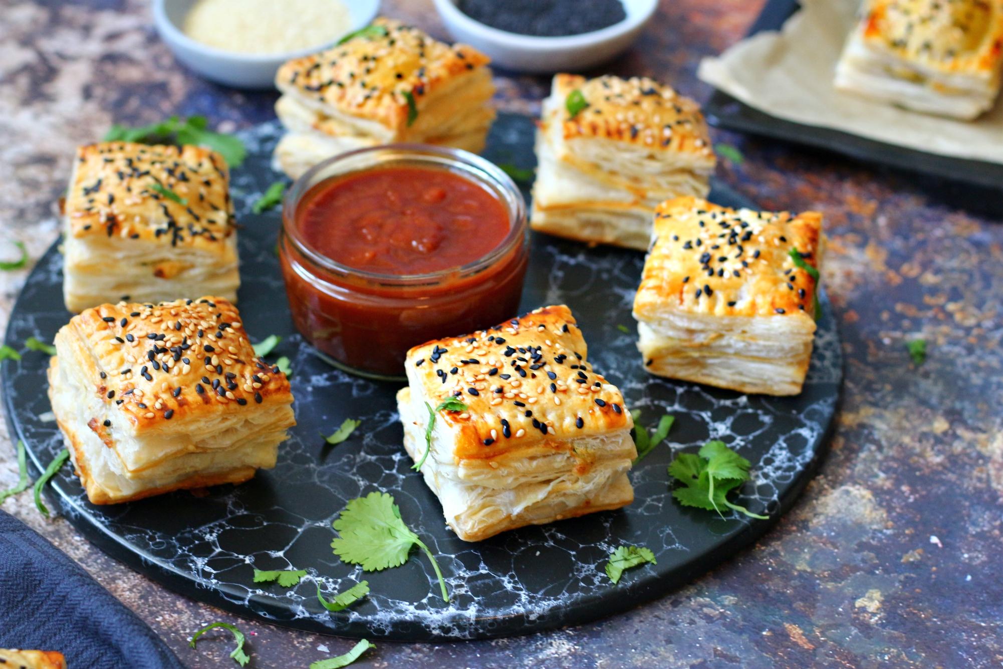 Pakistani Chicken Patties (Chicken Puffs) - RECIPE