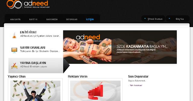 Php Adneed Reklam Yönetim Scripti – Ad Manager Scripts